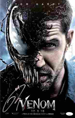 Autograph Signed Tom Hardy Poster