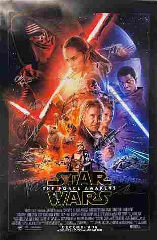 Harrison Ford Autograph Signed Star Wars Force Awaken