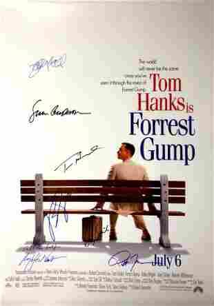 Autograph Signed Forrest Gump Poster