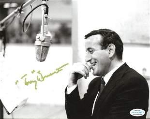 Tony Bennett Autographed Signed Photo