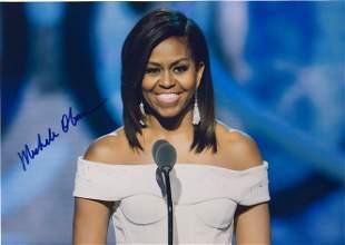 Signed Michelle Obama Photo