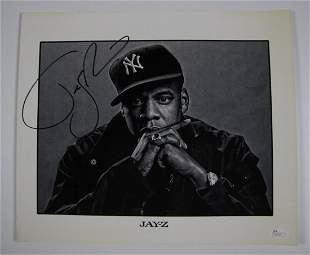 JayZ Autographed Signed Photo
