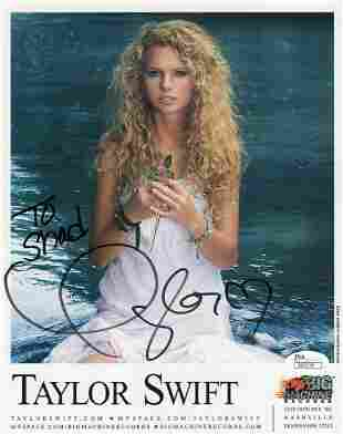 Taylor Swift Autographed Signed Photo
