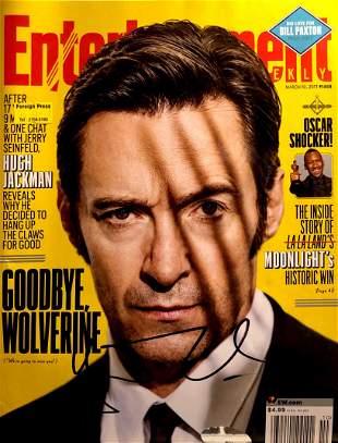 Signed XMEN Wolverine Hugh Jackman Magazine