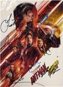 Signed Antman Wasp Movie Picture Book