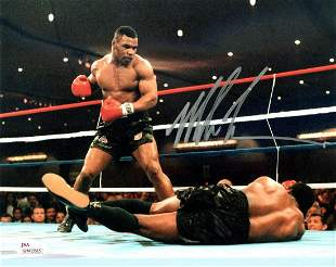 Mike Tyson Autographed Signed Photo