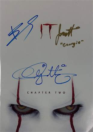 Signed I.T. 2 Movie Picture Book