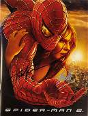 Signed Spiderman 2 Movie Picture Book