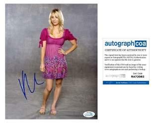 Kaley Cuoco Autographed Signed Photo