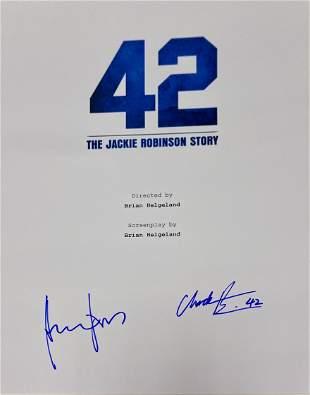 Autograph Signed 42 Script Cover