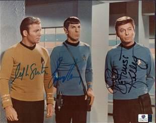 Star Trek Autographed Signed Photo