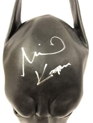 Signed SALE Batman Mask Michael Keaton