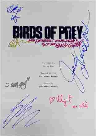 Autograph Signed Birds of Prey Script Cover