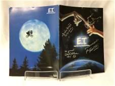 ET Robert MacNaughton Signed Picture Book