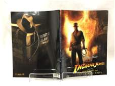 Indiana Jones Signed Picture Book