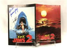 Jaws 2 Signed Picture Book