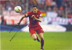 Robert Lewandowski Signed Photo