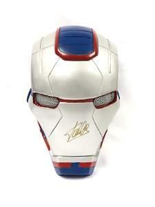 Stan Lee Autographed Signed War Machine Mask
