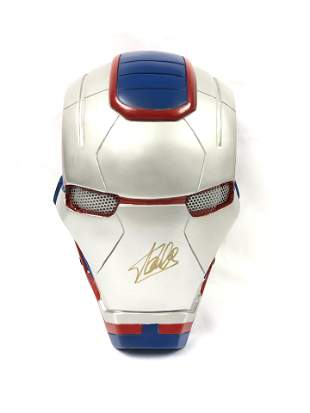 Stan Lee Autographed Signed War Machine Mask