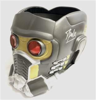 Chris Pratt Autograph Signed Avengers Star Lord Helmet