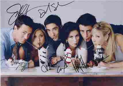 FRIENDS Photo Jennifer Aniston Autographed Signed