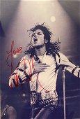 Autograph Signed Michael Jackson Photo