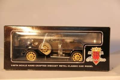 "8: MOTOR CITY 1:18 1931 FORD MODEL ""A"" 1998"