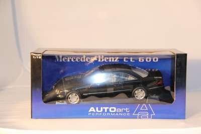 19: AUTO ART MERCEDES-BENZ CL 600 1:18