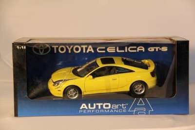 22: AUTO ART TOYOTA CELICA GT-S 2000 1:18