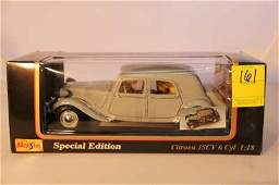 161: MAISTO SPECIAL EDITION 1952 CITROEN 15CV 6 CYL