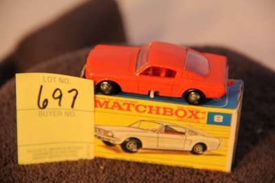 697: MATCHBOX #8 FORD MUSTANG