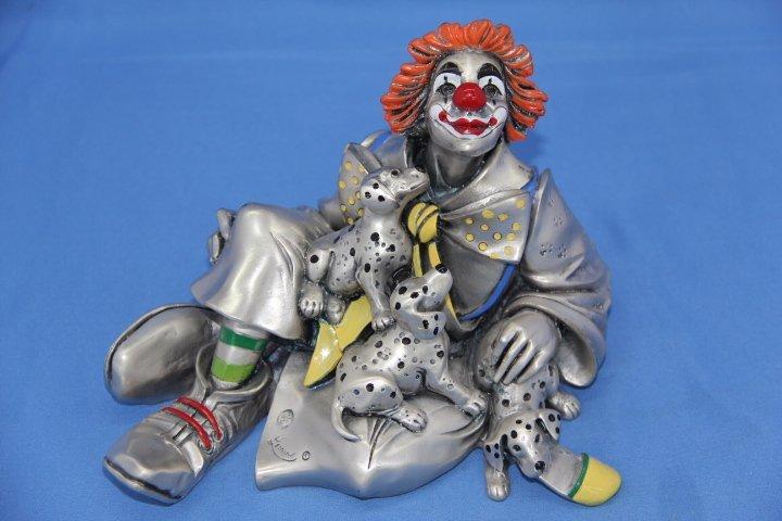 Clown Figurine by Mida