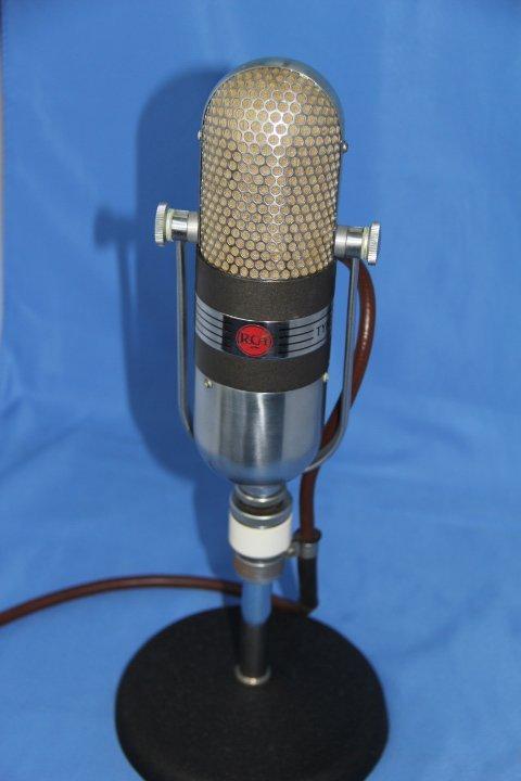 RCA Broadcast Microphone