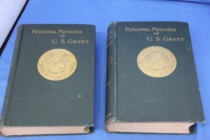 Signed Personal Memoirs of U.S. Grant - Volumes I and I