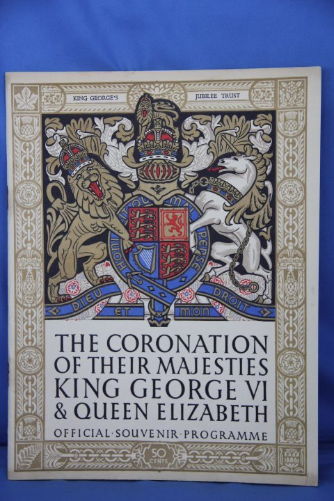 The Coronation of Their Majesty King George VI Queen El