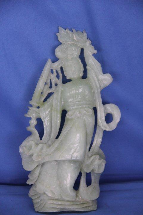 Carved Jade Statue