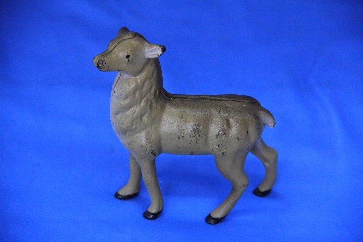 Cast Iron Deer Bank