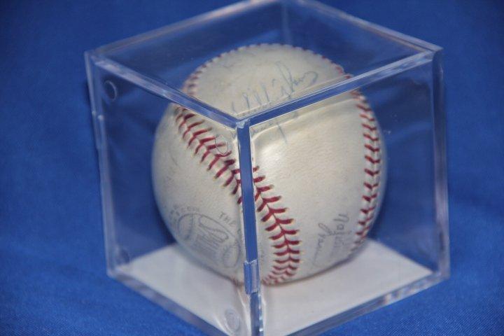 Signed 1943 Brooklyn Dodgers Baseball