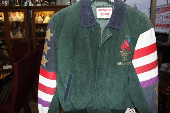 1996 Atlanta Olympic Suede Jacket