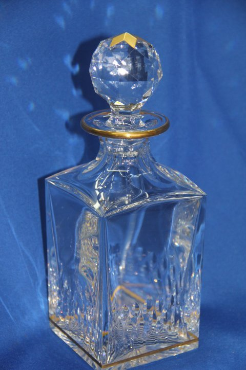 Saint Louis France Crystal Decanter