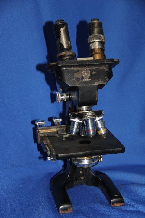 Vintage Spencer AO Microscope