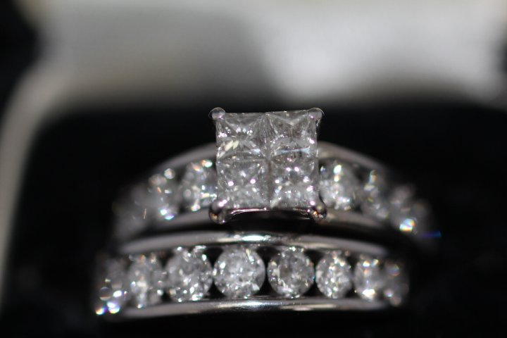 Ladies Diamond Engagement Ring 2 pcs.