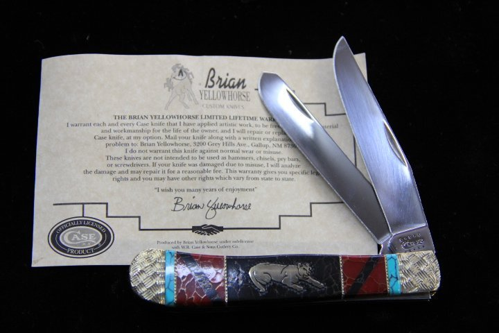 Brian Yellow Horse Knife