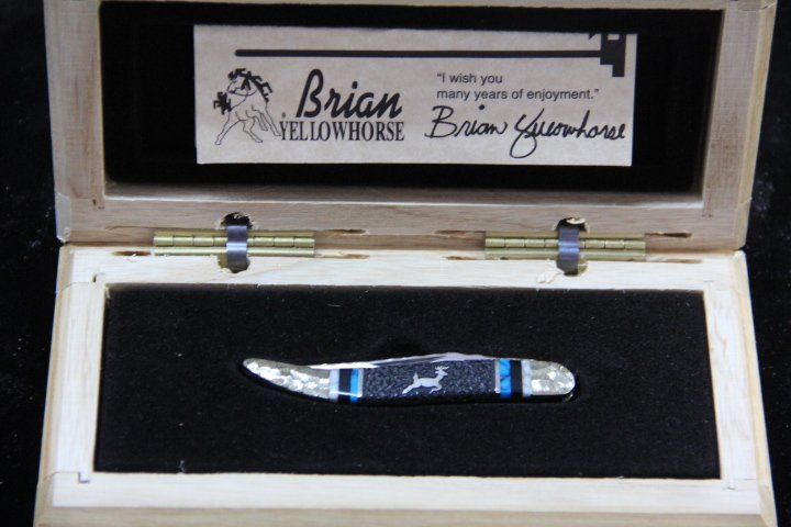 Brian Yellowhorse Buck Knife