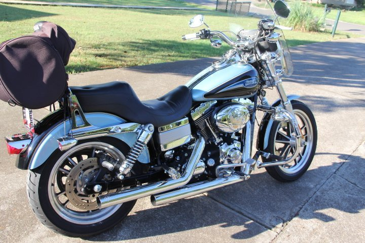 Harley Motorcycle - Low Rider.  Year 2007