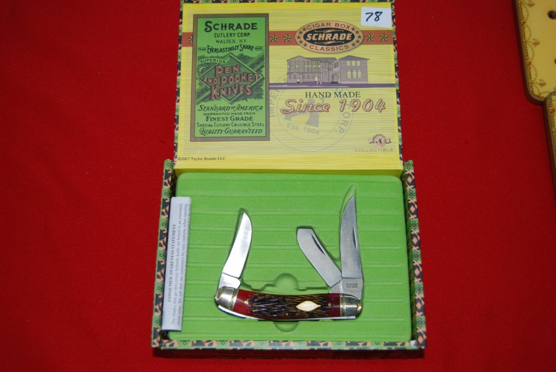 Schrade Tobacco Knife 2009 Limited Edition