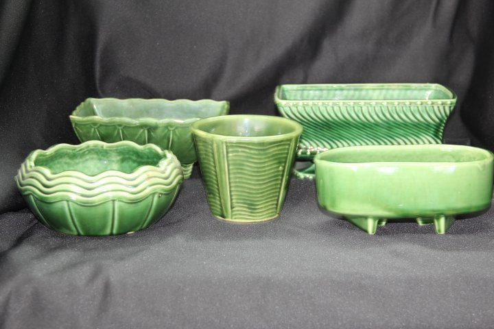 Five Pieces of McCoy Pottery