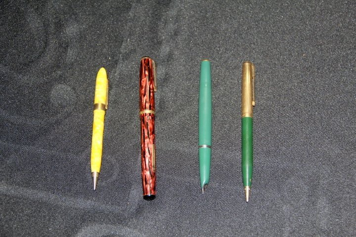 Group of Four Fountain Pens