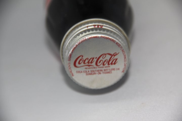 The Royal Wedding Coca Cola Bottle July 29, 1981 - 3