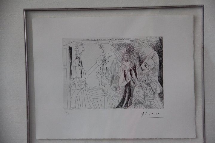 34-574 Pablo Picasso Etching